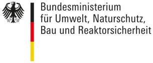 Logo: Bundesministerium für Umwelt, Naturschutz, Bau und Reaktorsicherheit
