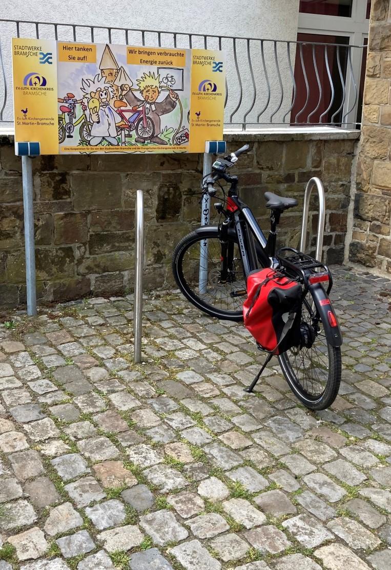 E-Bike Ladestation Innenstadt